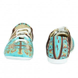 Textile Lace Up Shoes  - Textile Shoes  $i
